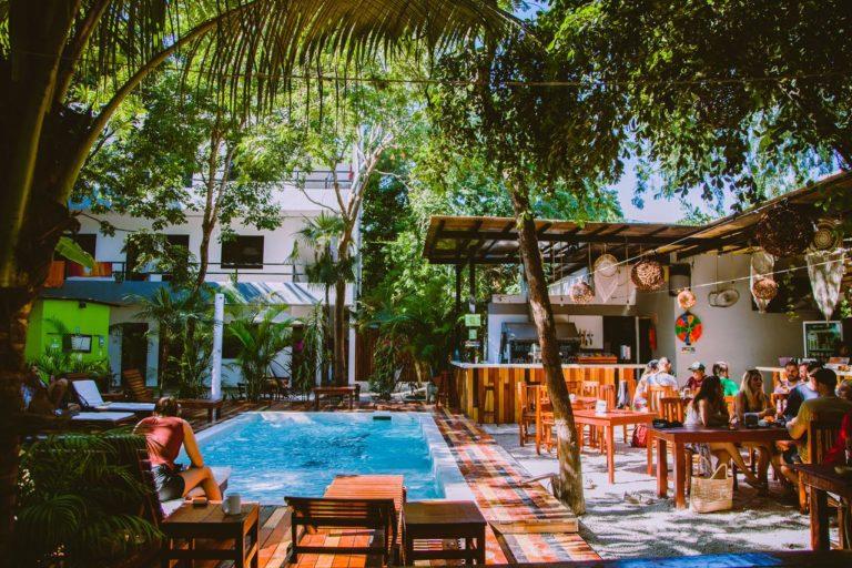 Hostel em Tulum