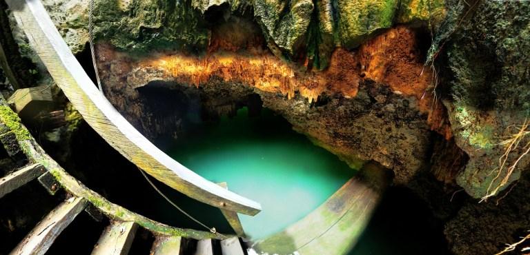 Cenotes Siete Bocas em Puerto Morelos