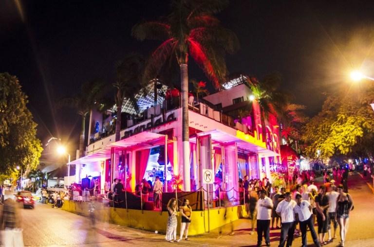 O que fazer em Playa del Carmen a noite Mandala
