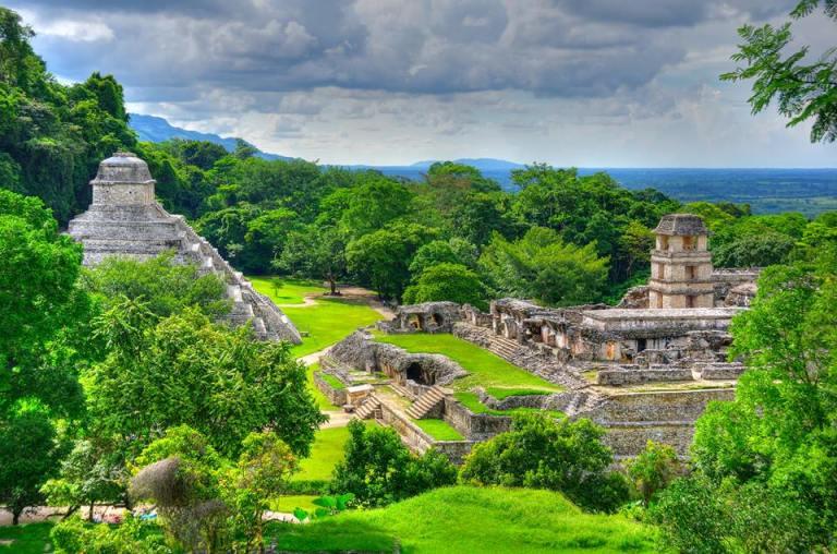 Palenque Pirâmides do México