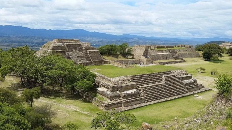 Pontos turísticos do México Monte Albán em Oaxaca