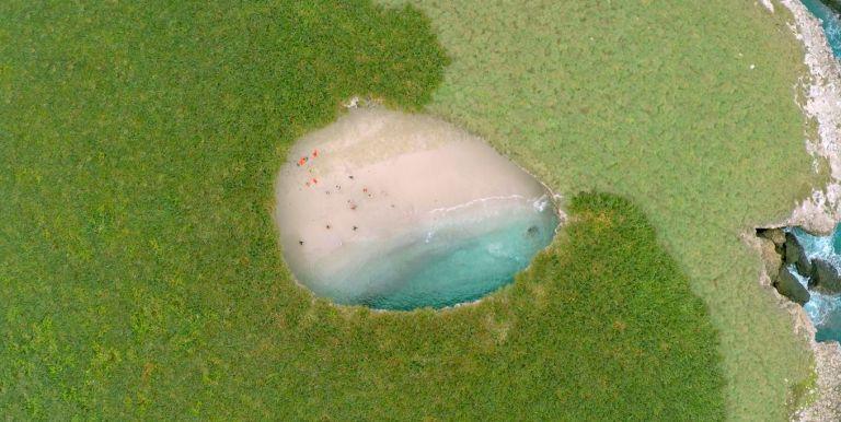 Ilhas marietas playa escondida