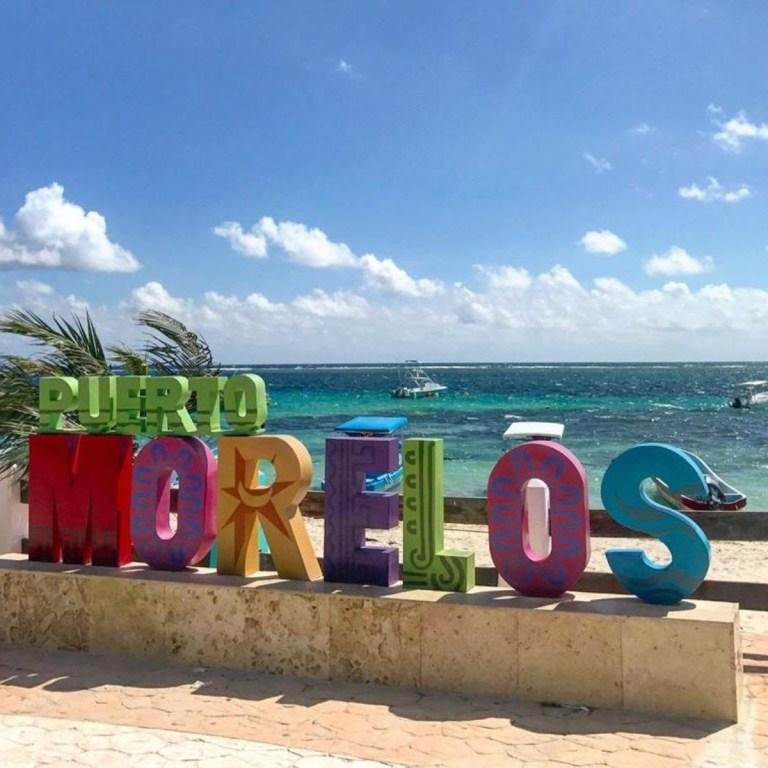 Onde fica Puerto Morelos