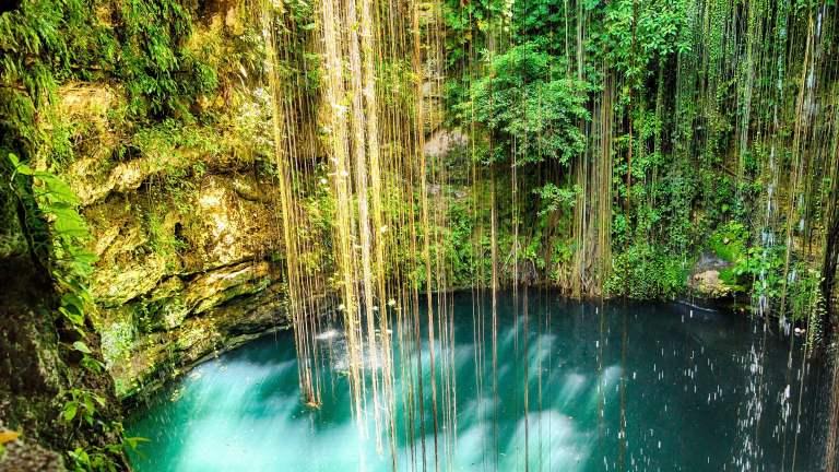 História Cenote Ik Kil