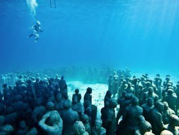 Museu Subaquático Cancun