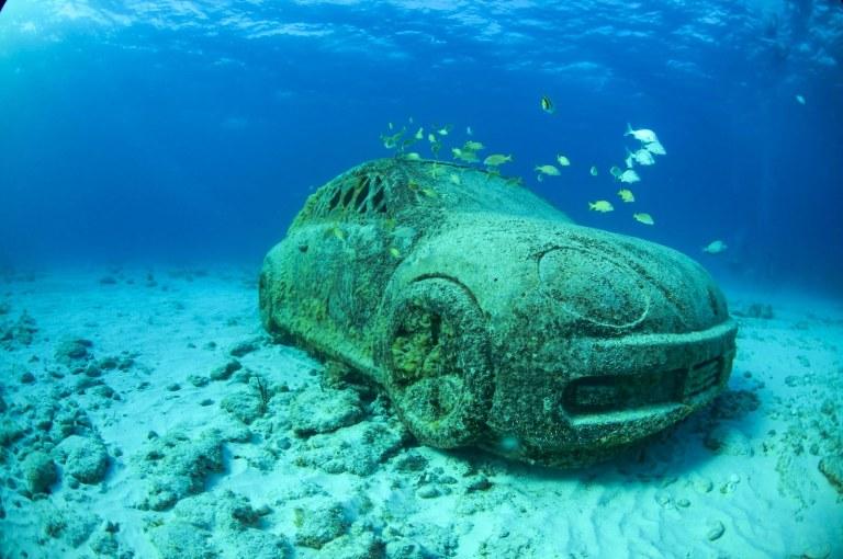 Museu Subaquático Isla Mujeres