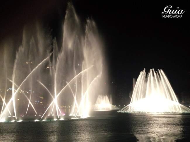 Fontes ponto turísticos de de Dubai