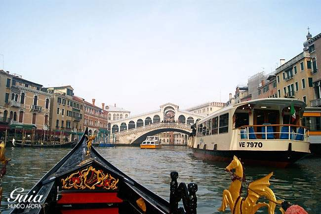 Gondola Rialto Veneza