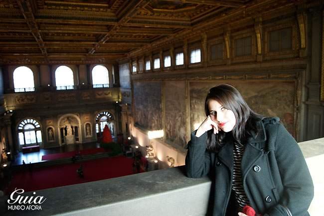 Interior do Palácio Vecchio em Florença