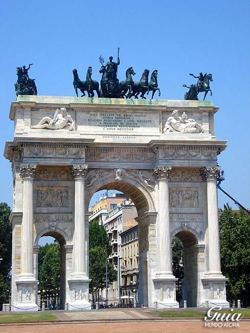 Arco della Pace em Milão