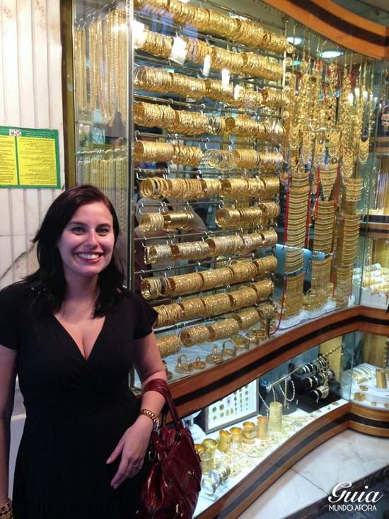 Mercado de Ouro de Dubai