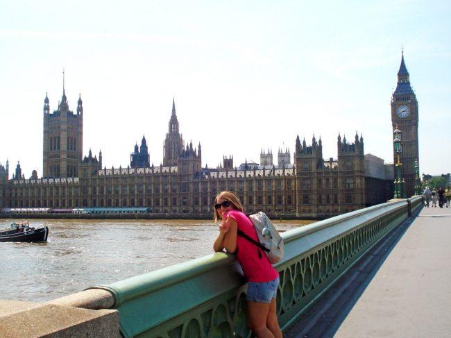 Look para Londres no verão