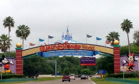 Estacionamento na Disney