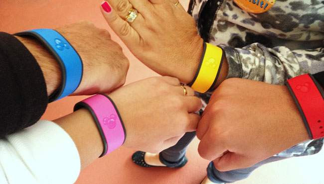 Magic Bands - pulseiras da disney