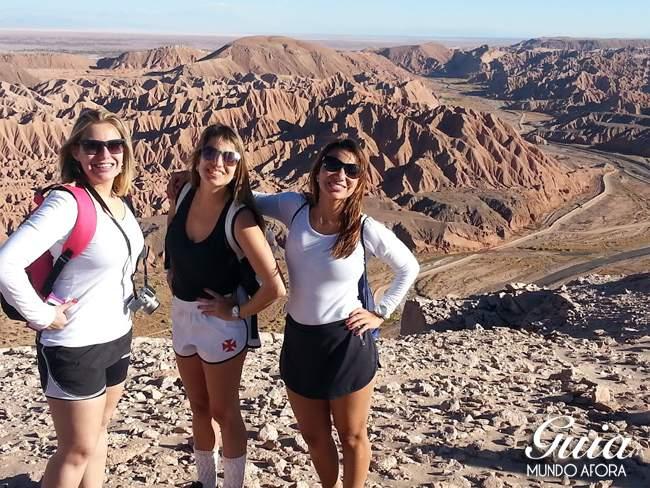 Roupas para Trekking Cuchabrache Deserto do Atacama Chile