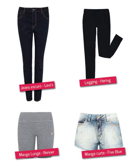 Como arrumar a mala para o atacama: Calças e shorts