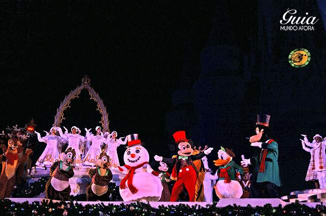 Celebrate the Season: show da festa de natal da Disney