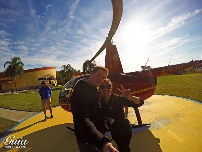 Passeio de helicóptero em Orlando