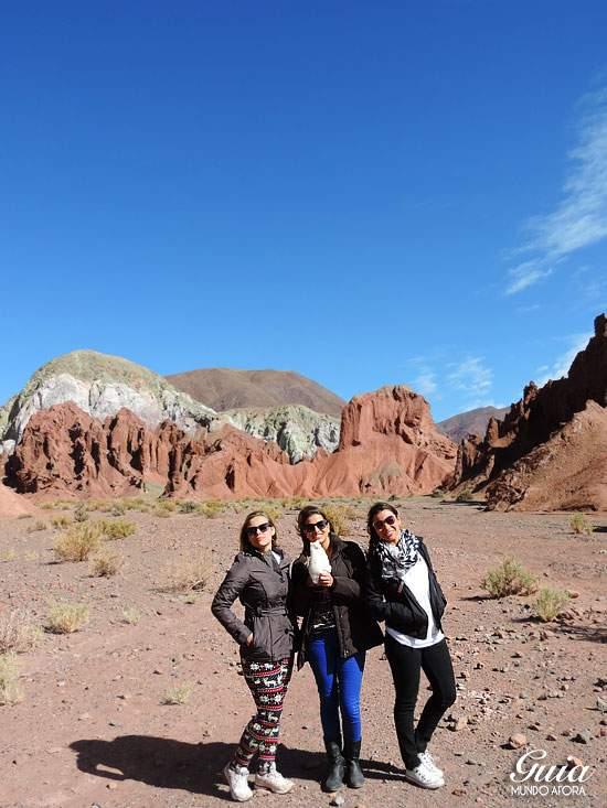 Meninas no Valle del Arco Iris