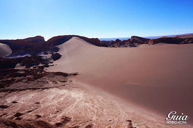 Areia no Valle de la Luna Atacama Chile