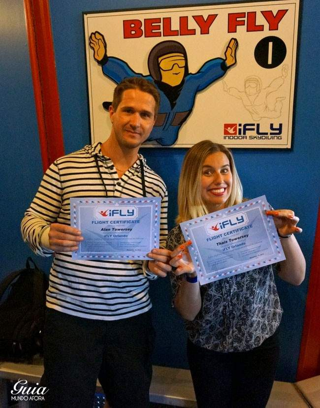 Certificados de voo IFly