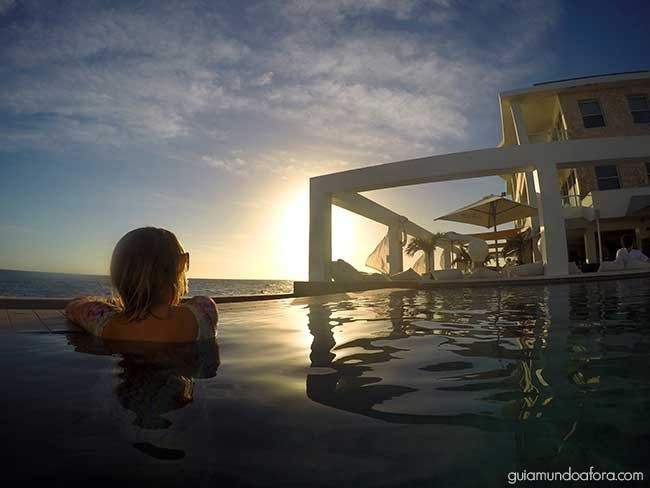Por do sol Curaçao