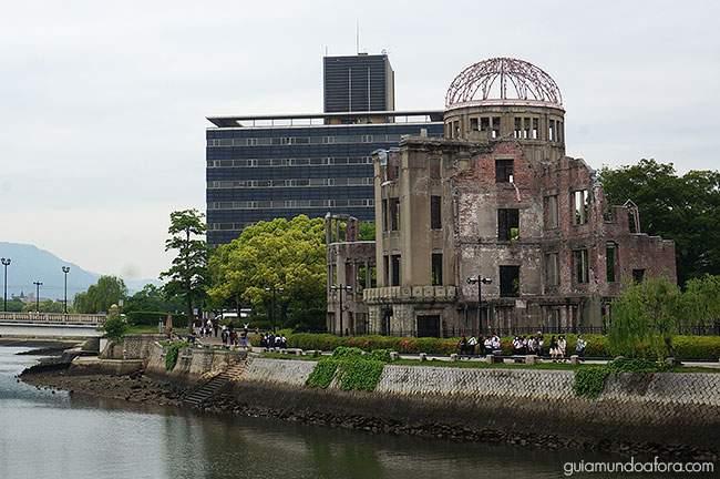 cidades no Japão hiroshima