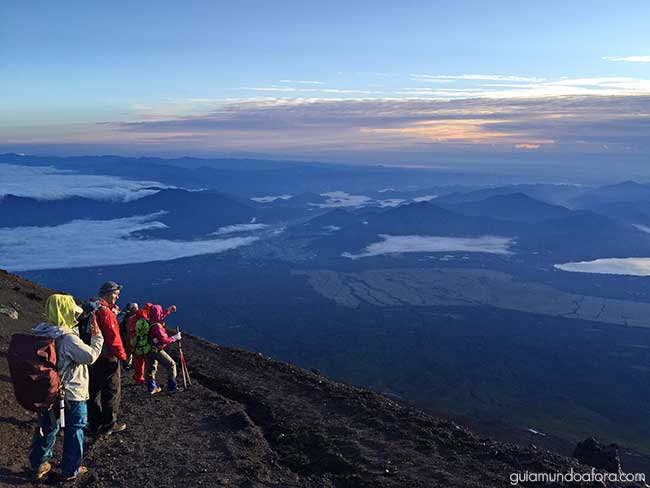 Descida Monte Fuji Japão