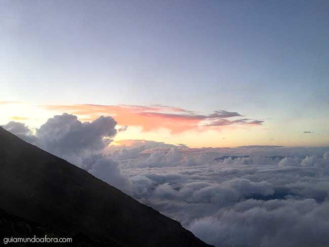 Por do Sol Monte Fuji
