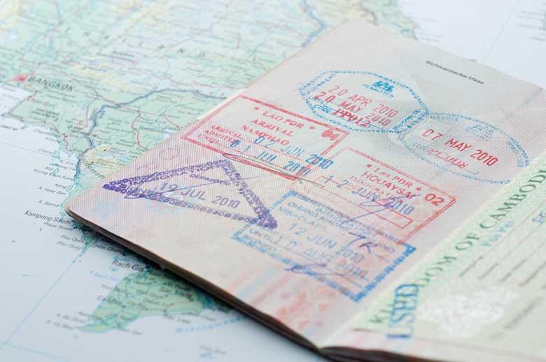 serviço de vistos