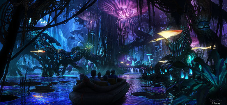 Avatar no Animal Kingdom