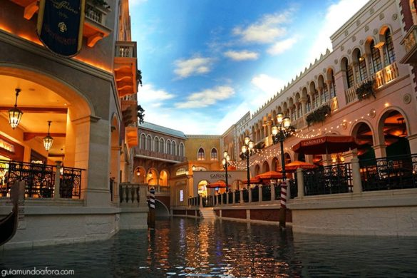 Passeio de Gôndola em Las Vegas