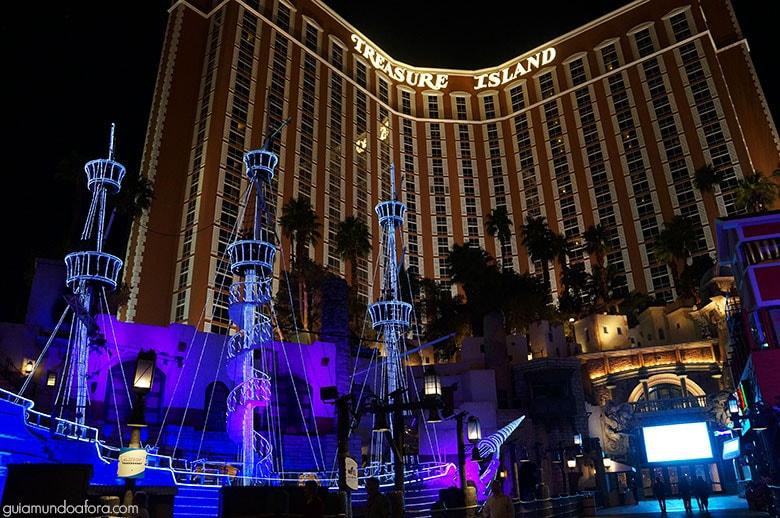 Tresure Island em Las Vegas