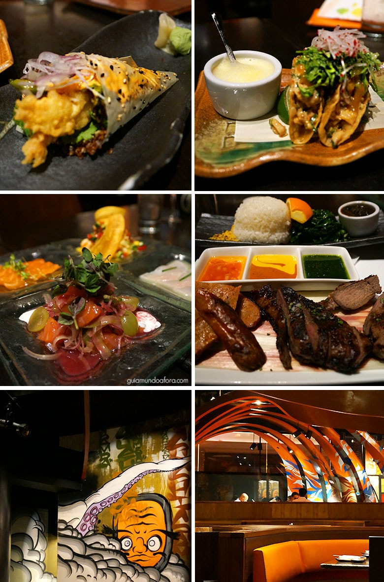 Restaurantes em Las Vegas: SushiSamba