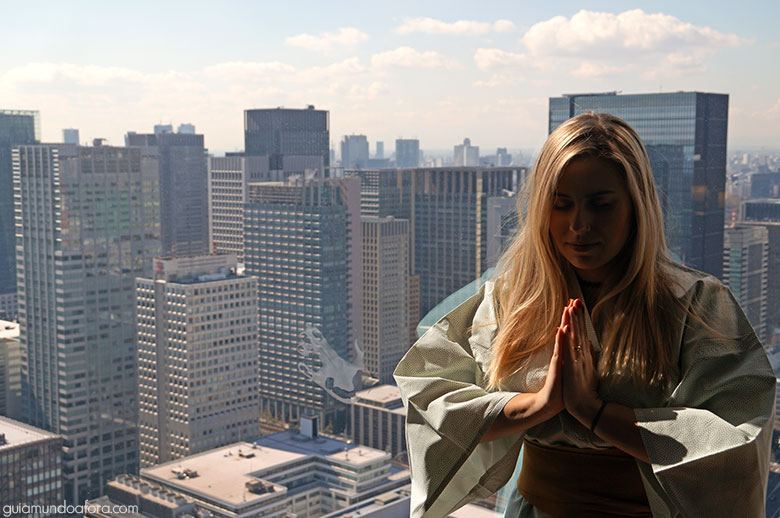 Hotel 5 estrelas em Tóquio