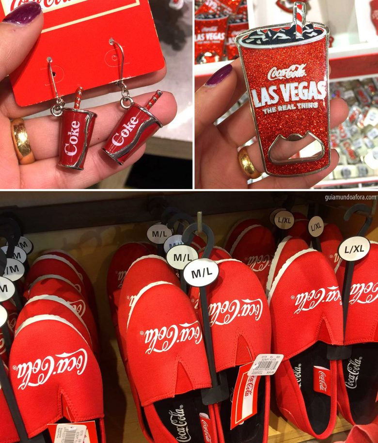 Loja da Coca Cola Vegas