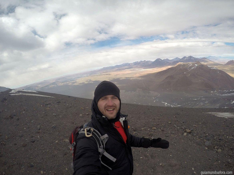 vulcão no Atacama