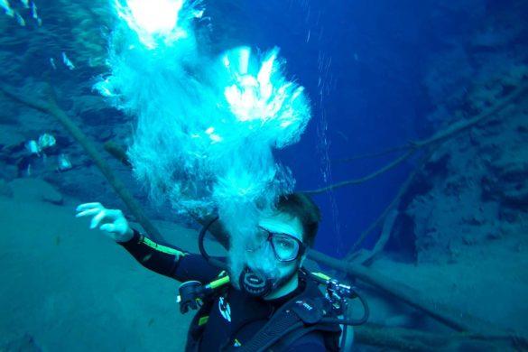 Mergulho na Lagoa Misteriosa em Bonito