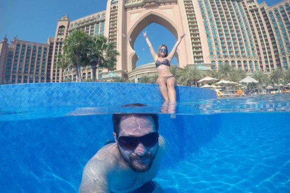 Como é se hospedar no Atlantis em Dubai? O hotel ponto turístico!