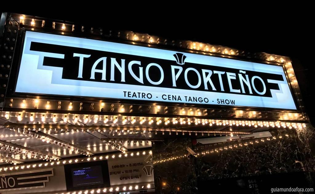 Tango Porteno em Buenos Aires