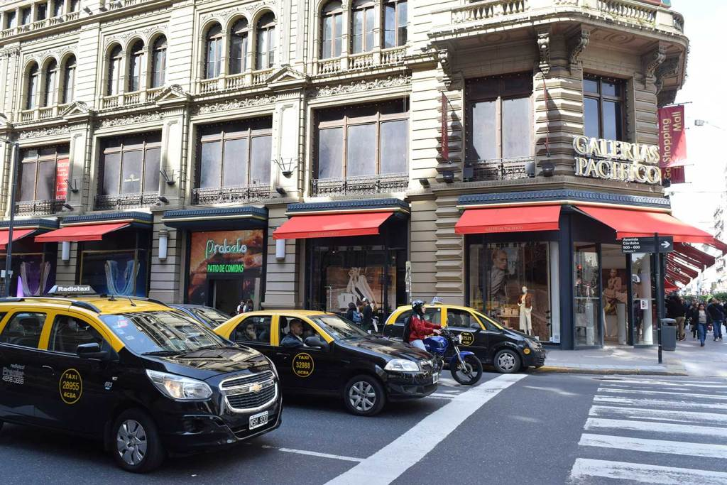 Táxis para rodar em Buenos Aires