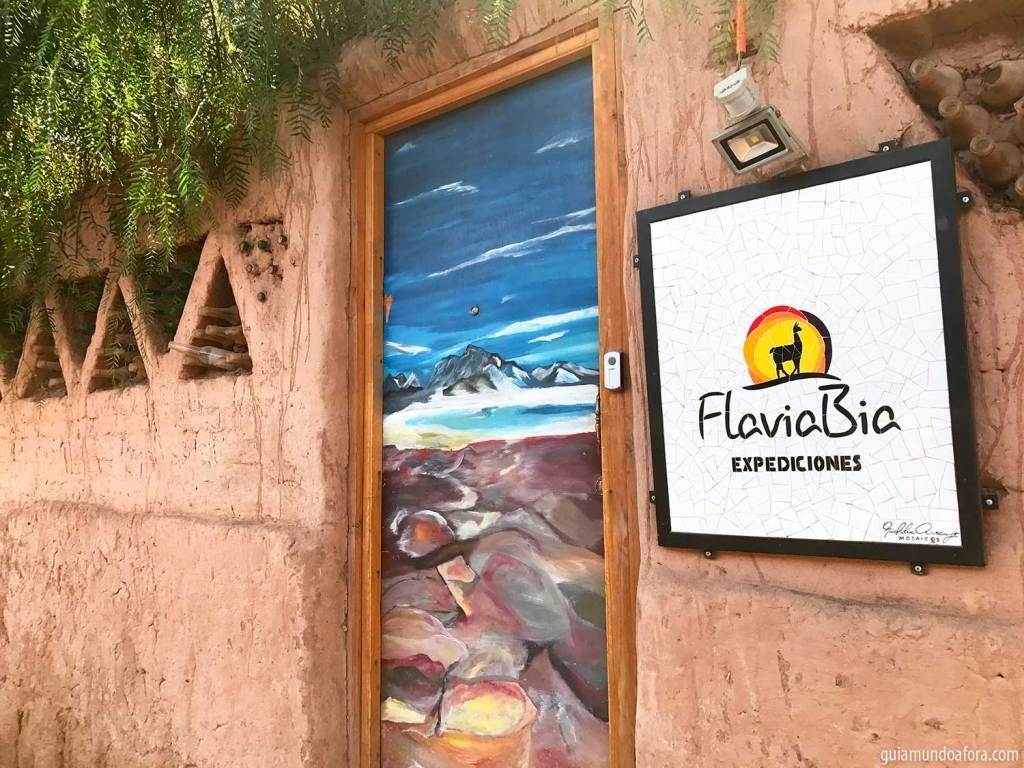 agência no Atacama FlaviaBia Expediciones