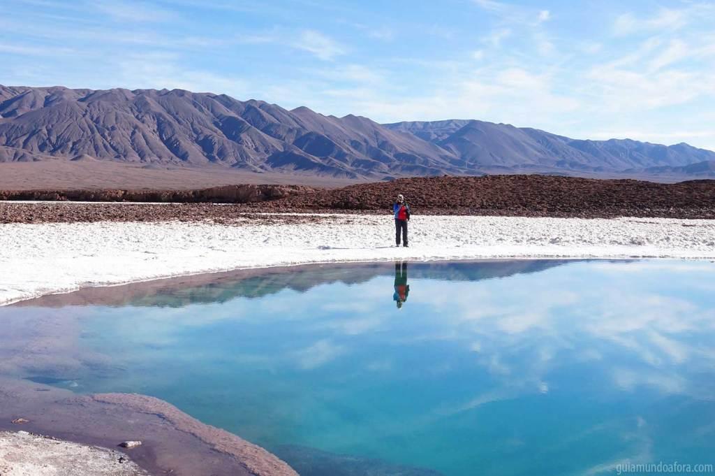 paisagens no Atacama Lagunas Escondidas