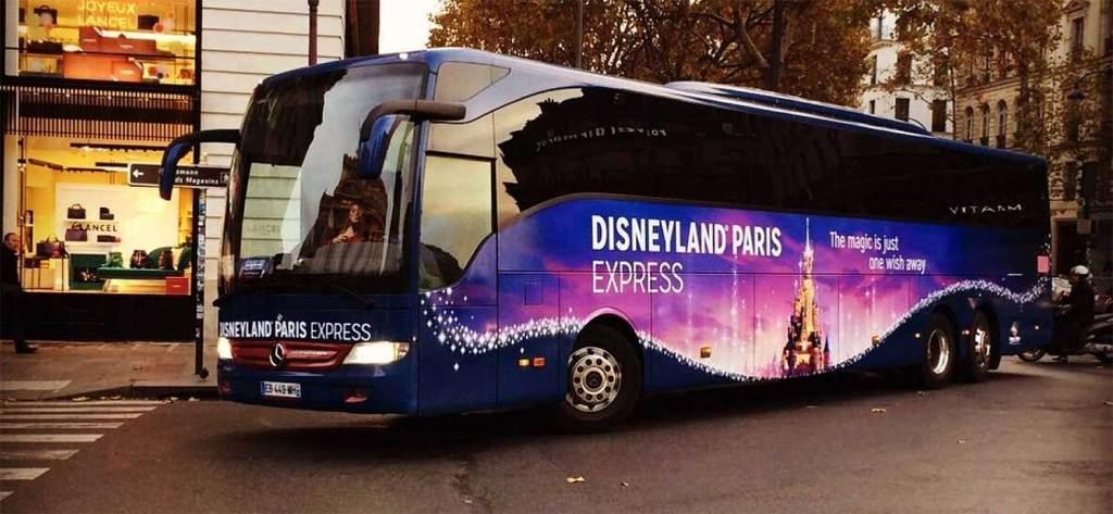 ônibus disneyland paris express
