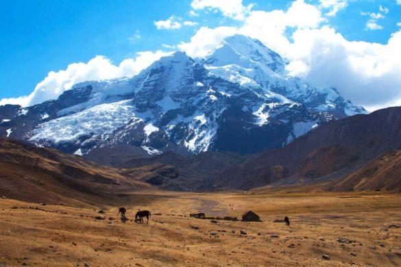Trilha Ausangate e Vinicunca (dia 2): o lodge mais alto do mundo