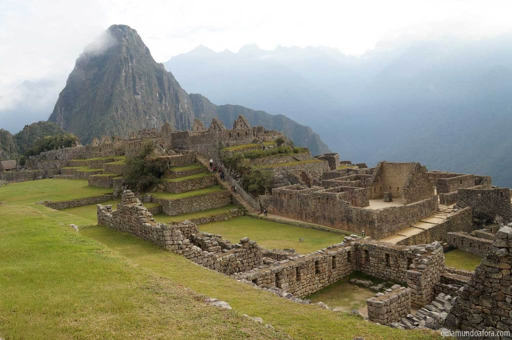 Visita a Machu Picchu no Peru