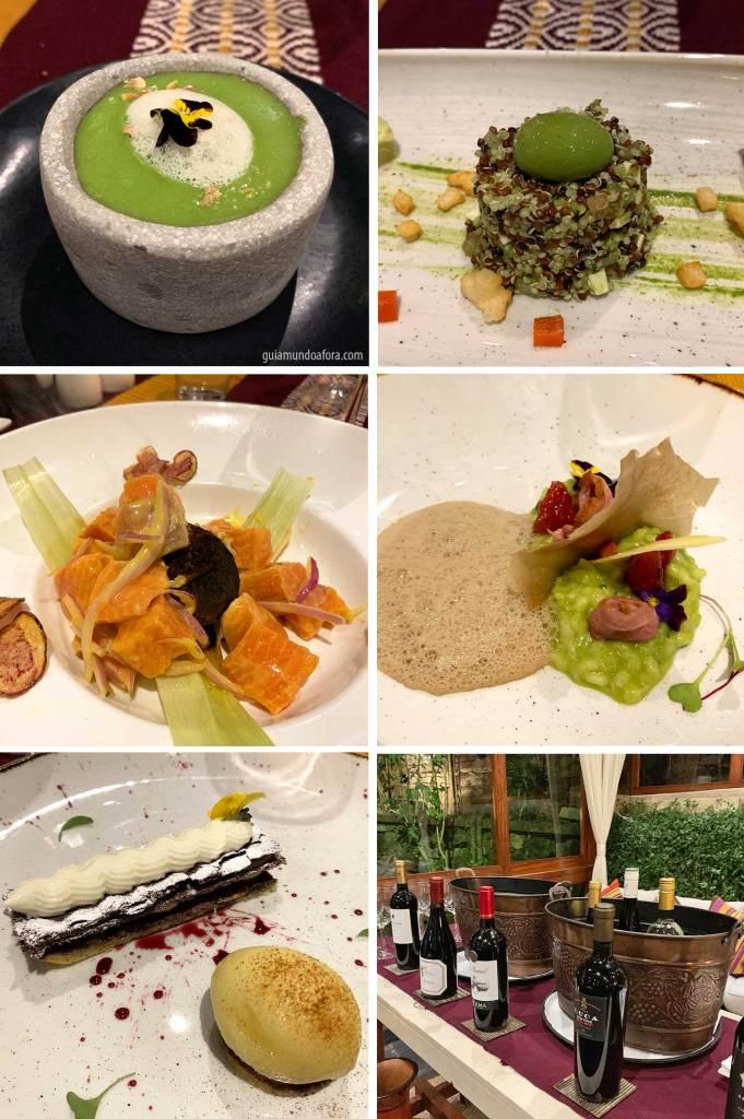menu degustação sumaq