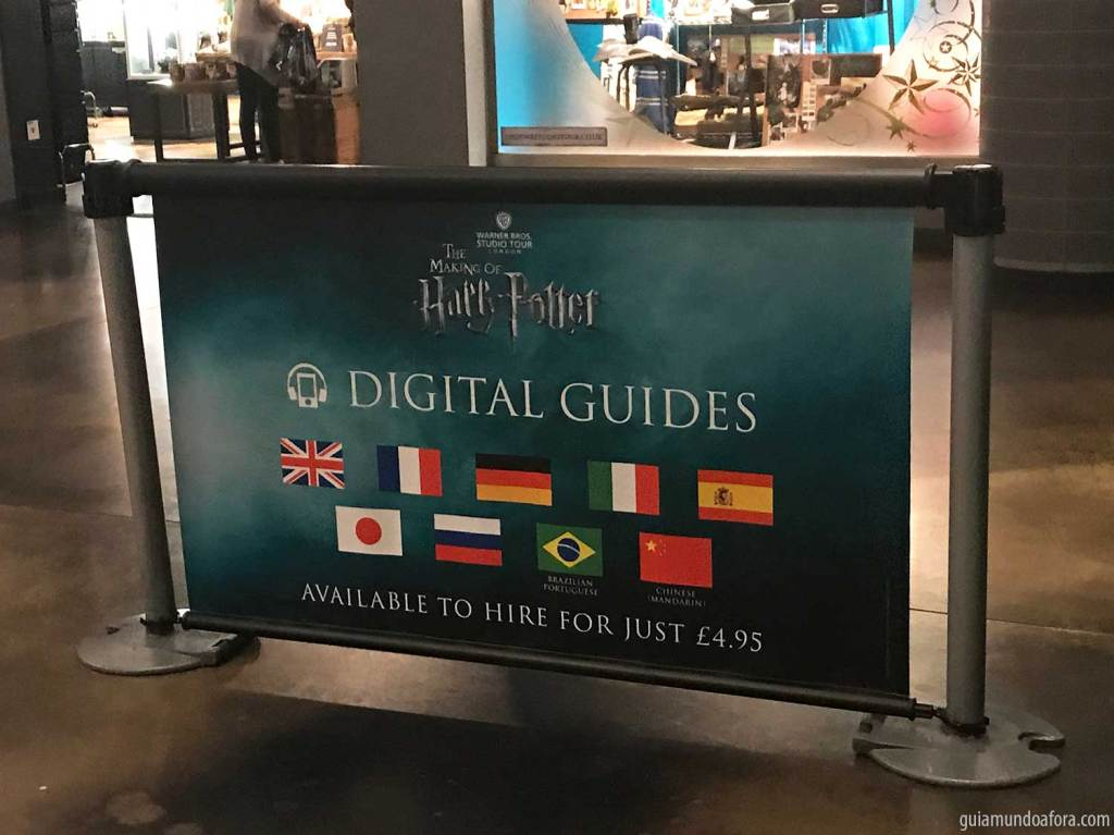 audio guide harry potter