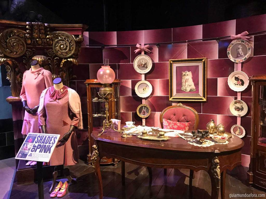 Sala da Umbridge Harry Potter Estudios Londres