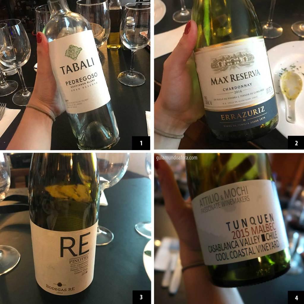 curso de vinhos em Santiago
